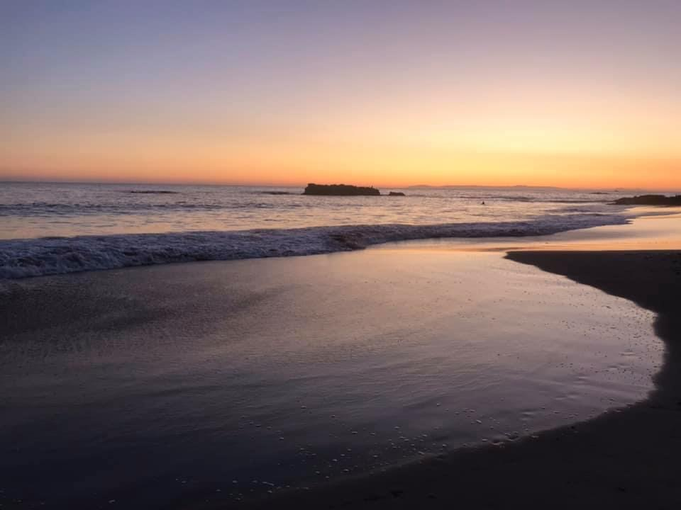 Sunset in Laguna Beach, Main Beach