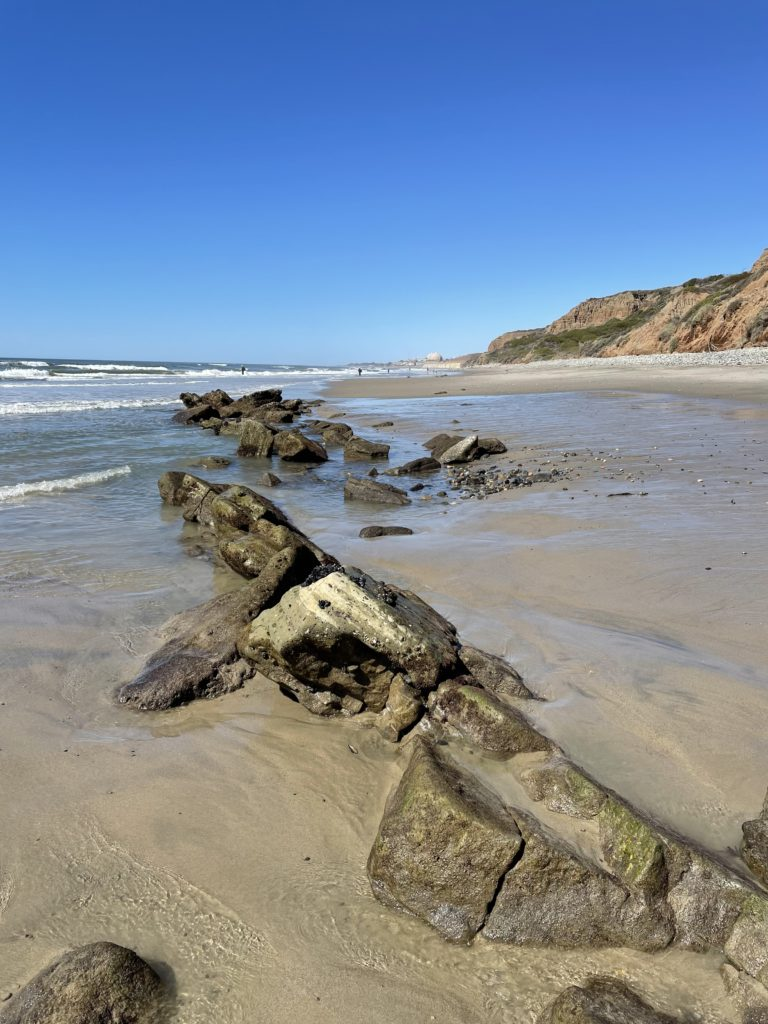 San Onofre Bluffs Campground - beach view