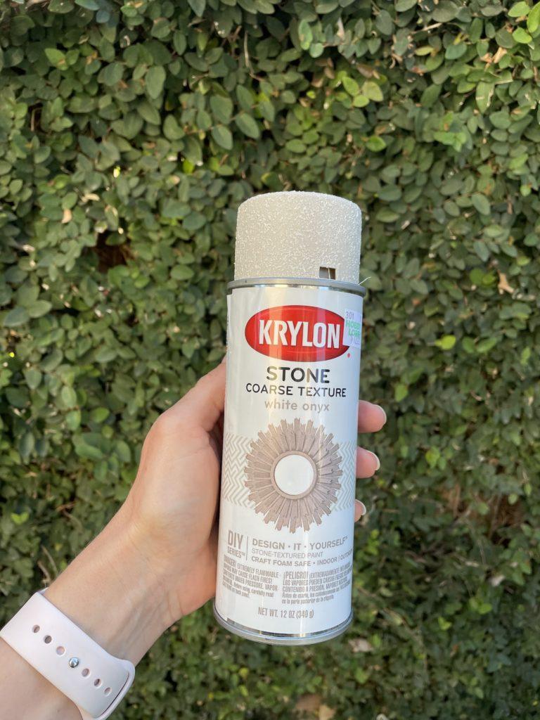 Krylon Stone Coarse Texture white onyx